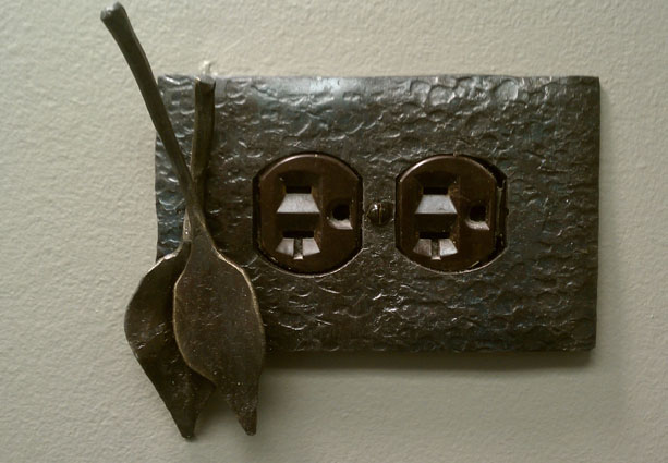 wrought iron switch plate