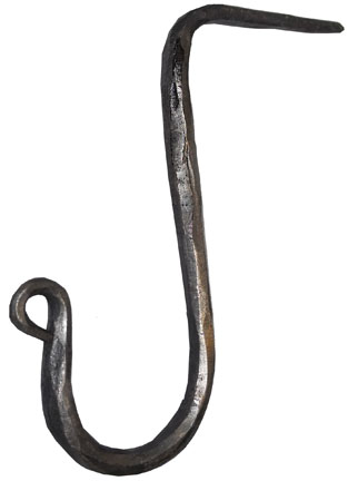 wrought iron spice hook